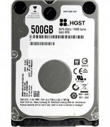 هارد دیسک لپ تاپ اچ جی اس تی با ظرفیت 500 گیگابایت