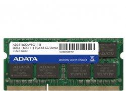 رم لپ تاپ ای دیتا 8 گیگابایت با فرکانس 1600 مگاهرتز
