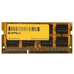 رم لپ تاپ DDR4 زپلین 4 گیگابایت با فرکانس 2133 مگاهرتز