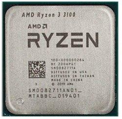 پردازنده تری ای ام دی مدل Ryzen 3 3100 با سوکت AM4 و فرکانس 3.6 گیگاهرتز